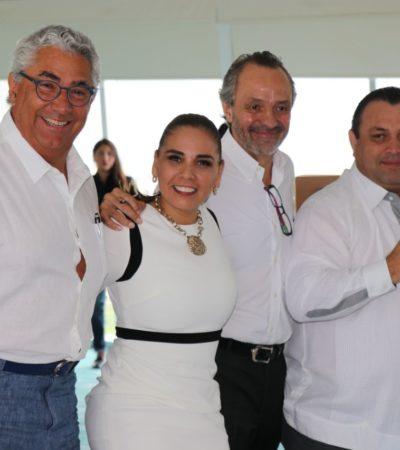 Mara Lezama se reúne con empresarios para presentar planes de inversión y desarrollo sustentable para Cancún
