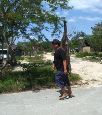 Las invasiones generan inseguridad en Puerto Aventuras