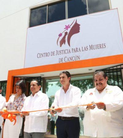 INAUGURAN CENTRO DE JUSTICIA PARA LAS MUJERES DE CANCÚN: Cumple Ayuntamiento de BJ con las recomendaciones de la alerta de violencia de género
