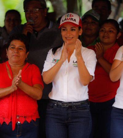 Ofrece Laura Fernández apoyo a madres trabajadores