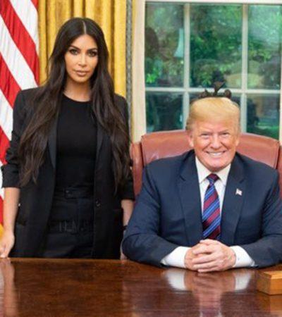 La reunión de Kim Kardashian con Donald Trump afianza la telerrealidad en la Casa Blanca