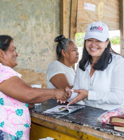 Se pronuncia Mildred Ávila por la defensa de espacios verdes en Cancún