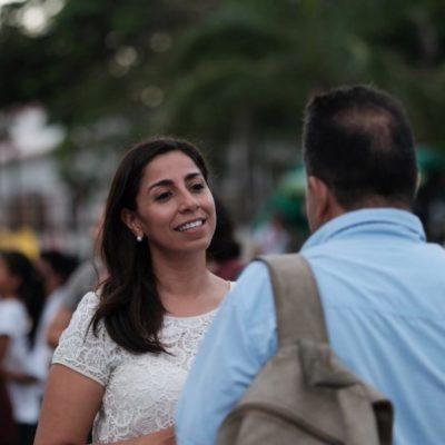Las necesidades de la Zona Maya, Marybel Villegas las asume como propias, dice