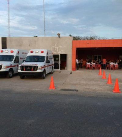 Se pelean por predio de la Cruz Roja en Felipe Carrillo Puerto