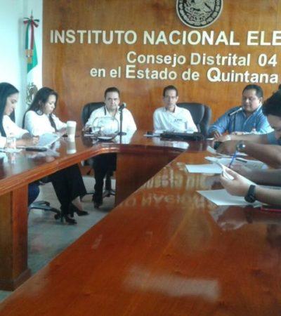 Sólo los candidatos de la coalición 'Por México al Frente' asisten a sorteo del debate que organiza Coparmex Cancún