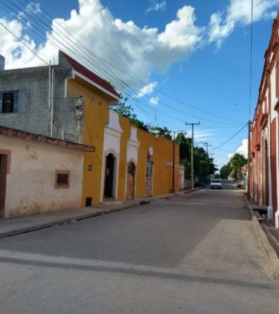 Por falta de recursos paran obras de restauración de edificios históricos en Tihosuco