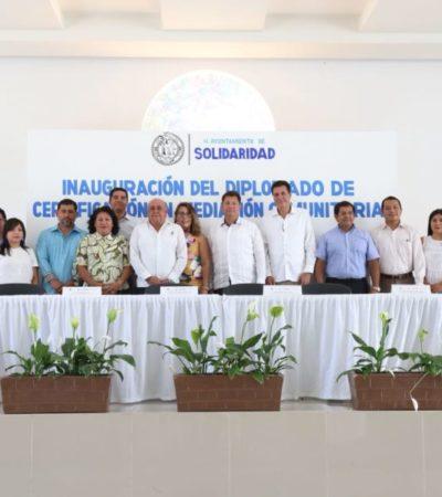 Funcionarios de Solidaridad recibirán capacitación en 'Mediación comunitaria' por parte del Poder Judicial del Estado de Quintana Roo