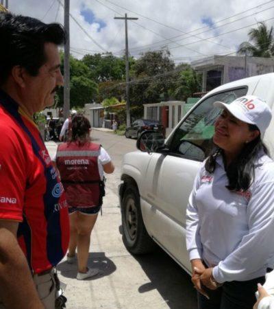 Mildred Ávila apoyará a microempresas con créditos y estímulos fiscales, ofrece