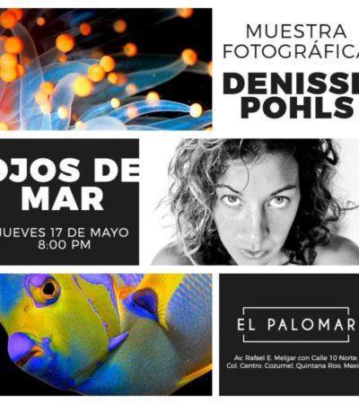 'Ojos de agua', la nueva exposición fotográfica de Denisse Pohls en Cozumel