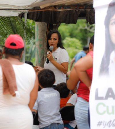 Laura Fernández Piña impulsará alianzas con empresarios para ofrecer empleos a los portomorelenses