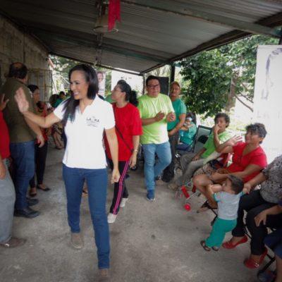 Laura Fernández se compromete a reforzar la seguridad en Puerto Morelos