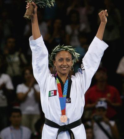 Mañana por la noche llega Iridia Salazar, medallista olímpica, a Cancún