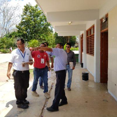 Revisan 22 refugios anticiclónicos en Puerto Morelos y en breve se difundirá dictamen de las inspecciones