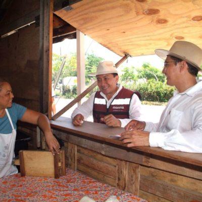 En México, afirma Jesús Pool, no debe haber gobierno rico y pueblo pobre