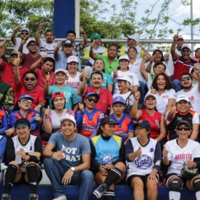 Martín de la Cruz apoyará actividades deportivas y rehabilitará parques en Solidaridad, anticipa