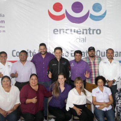 PES da a conocer su planilla de regidores para Benito Juárez