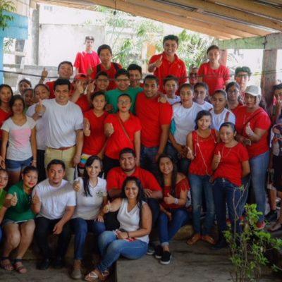 Laura Fernández impulsará el desarrollo de los jóvenes de Puerto Morelos