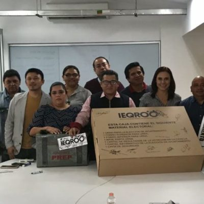 Ieqroo avala materiales electorales