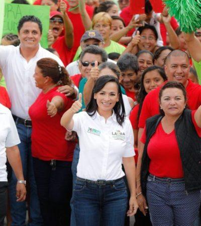 Laura Fernández da a conocer programa de protección del manto fréatico