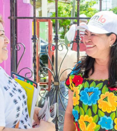 Mildred Ávila legislará para que las mujeres no padezcan violencia física, verbal, mental, emocional, laboral, de pareja y en sus hijos