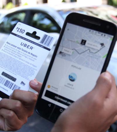 Confían empresarios en que Uber entre a Quintana Roo de una forma u otra