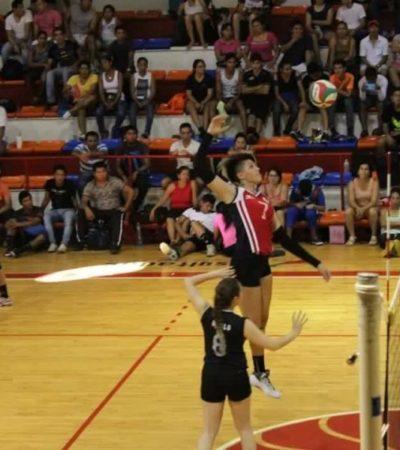 El viernes 25 de mayo inicia la Copa Cancún de voleibol con una bolsa de 72 mil pesos