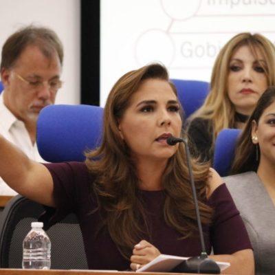 """""""QUE TRAIGAN SU DINERO AQUÍ PORQUE HAY CERTEZA JURÍDICA Y HABRÁ SEGURIDAD"""": 'Mara' Lezama promoverá más a Cancún para atraer inversiones"""