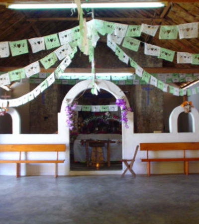 Todos los jerarcas mayas se encuentran molestos porque continúa sin techo la Iglesia de la Cruz Parlante