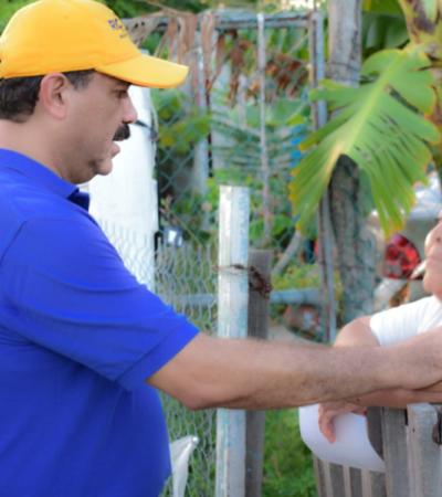 Julián Ricalde gestionará mayores recursos para la seguridad de los quintanarroenses
