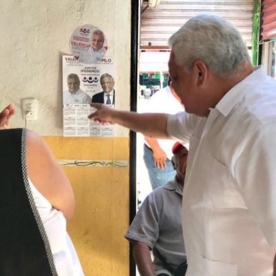 Manuel Valencia Cardín, ex secretario particular de Félix González Canto y Roberto Borge Angulo, respalda la lucha de los taxistas