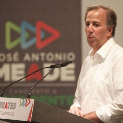 En alusión a AMLO y Nestora Salgado, Meade critica a quienes optan por amnistía y se alían con delincuentes