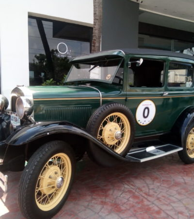 110 vehículos antiguos, mil 200 kilómetros en 10 días, consolidan al Rally Maya a nivel mundial