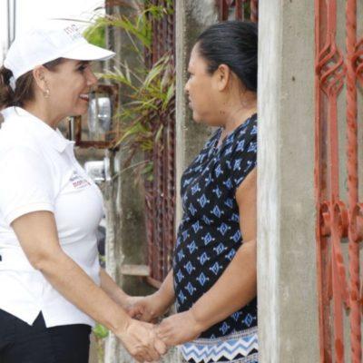 Videocámaras y drones para los policías y más educación para los jóvenes, propone Mara Lezama para acabar con la inseguridad en Cancún