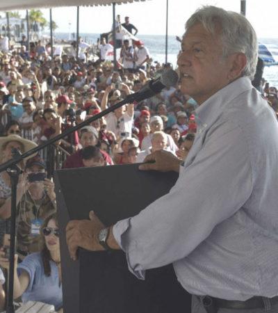 Acusa AMLO a Coppel de presionar a sus trabajadores para que voten por Anaya