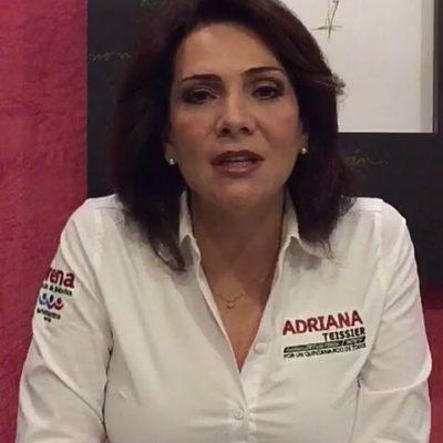 Adriana Teissier será oradora en el mitin de AMLO en Playa del Carmen
