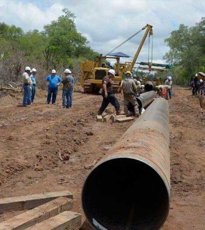 Gobierno de Solidaridad no admitirá presiones de la federación en caso de gasoducto; dependencias municipales ya analizan el proyecto
