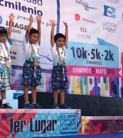 Corren contra la esclerosis tuberosa en Cancún