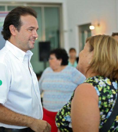 Pedro Joaquín afirma que devolverá la paz y la tranquilidad que Cozumel ha perdido