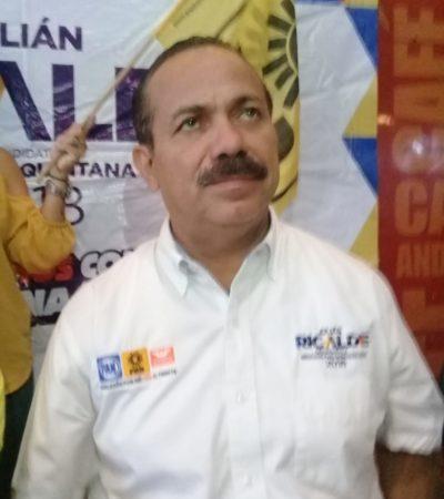 Julián Ricalde, preocupado por la creciente inseguridad, exige revisar en qué se está usando el presupuesto federal destinado a tal problemática