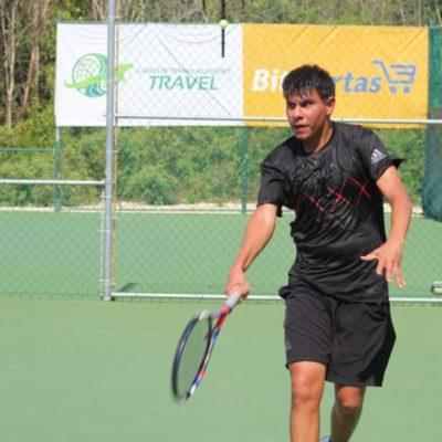 El quintanarroense Mauricio Astorga y el mexiquense Rodrigo García lideran el 'draw' principal del circuito profesional de tenis