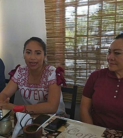 Mary Hernández dice que AMLO ayudará a la Zona Maya
