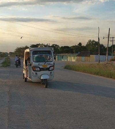 Ahora el tráfico en Señor es de mototaxis; 100 de ellos, irregulares, provocan ruido y embotellamientos