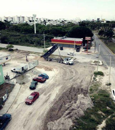 """""""¡VAYA, HASTA QUE HACEN ALGO!"""": Avanzan las obras del 'Frente' para tapar el 'megabache' de Cancún"""