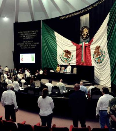 """""""ES UN ARRENDAMIENTO, NO UN CRÉDITO"""": Precisan diputados inversión tecnológica para reforzar seguridad pública en Quintana Roo"""
