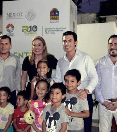 ENTREGA AYUNTAMIENTO FORO CULTURAL: Con una inversión de casi 4 mdp, inauguran emblemática obra como parte del proyecto Yaakun Cancún
