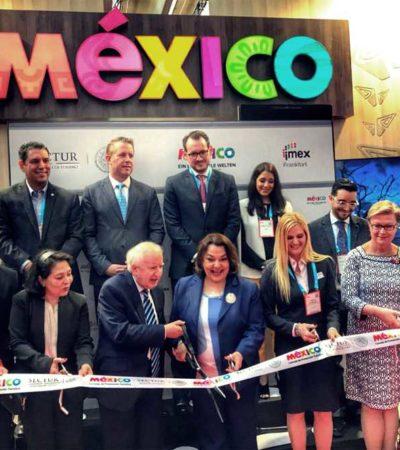 Presente Cancún en la Feria para 'Meetings' y Viajes de Incentivo 'IMEX Frankfurt'