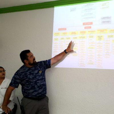 Instalan subcomités de difusión y refugios temporales en Benito Juárez