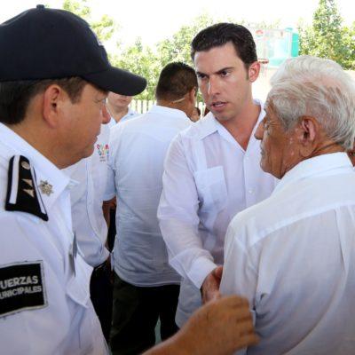 Anuncian base policial para reforzar seguridad en la SM 05 de Cancún