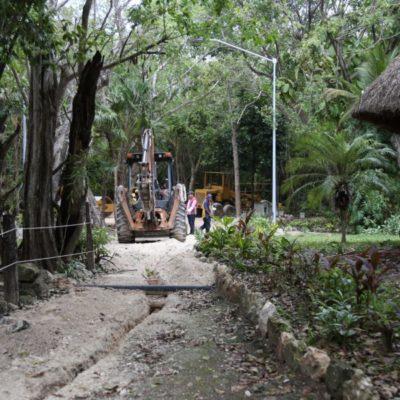 Sigue la remodelación del parque Kabah; próximamente los cancunenses podrán disfrutar de las nuevas instalaciones