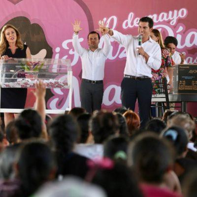 CELEBRAN A LAS MAMÁS DE CANCÚN: Casi el 51% de la población son mujeres y cerca del 30% de ellas son el sustento de sus familias